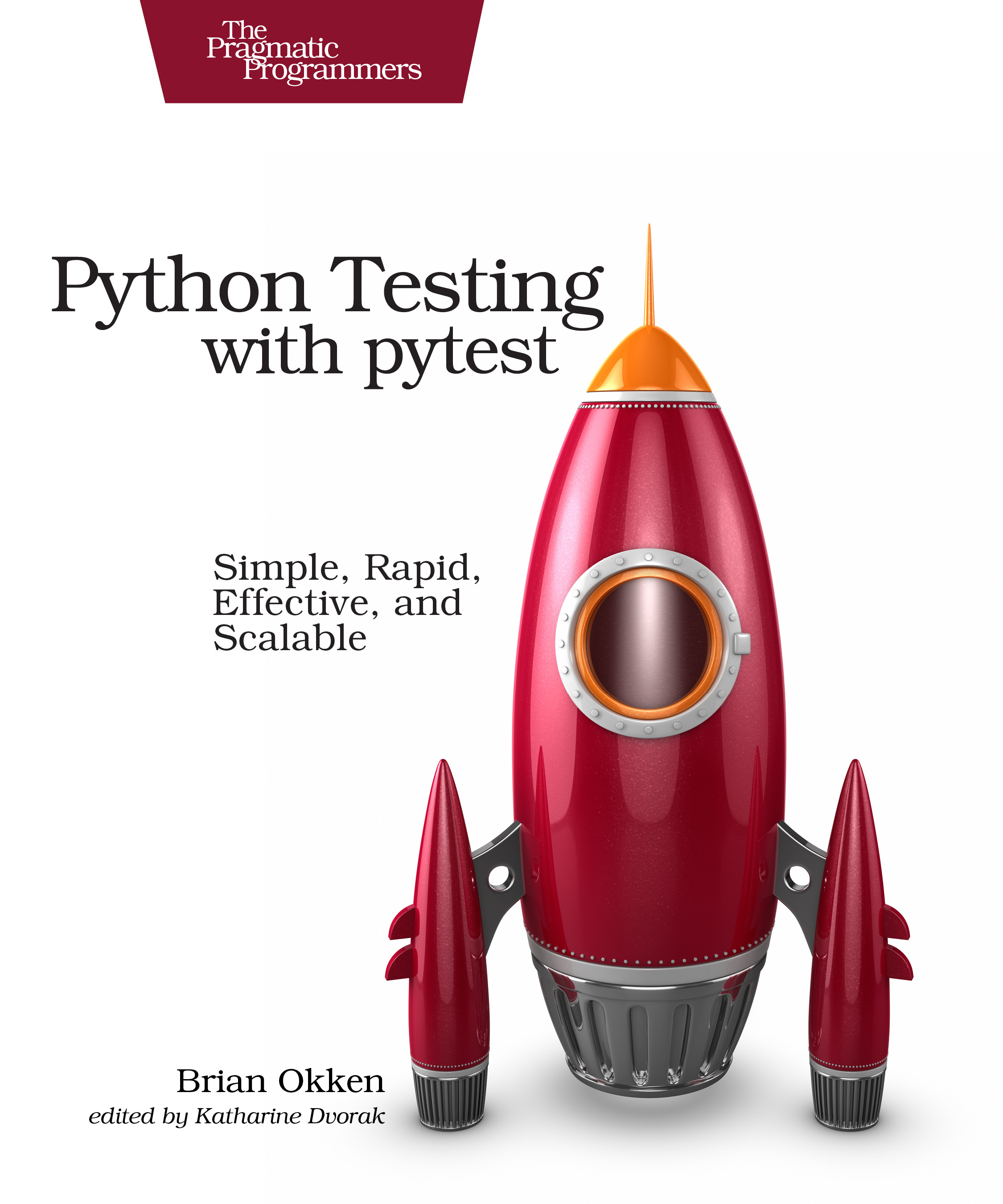 Book Cover: Python Testing with pytest - Brian Okken